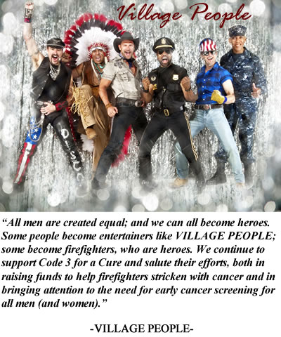 Village People photo and statement